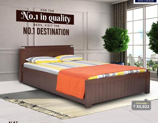 Bed With Storage In Mumbai   Offtheshelf
